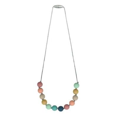Itzy Ritzy Teething Necklace Rainbow