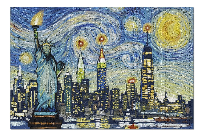 Lantern Press New York Starry Night Puzzle