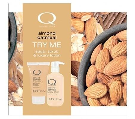 Zoya Almond Oatmeal Scrub Lotion Set