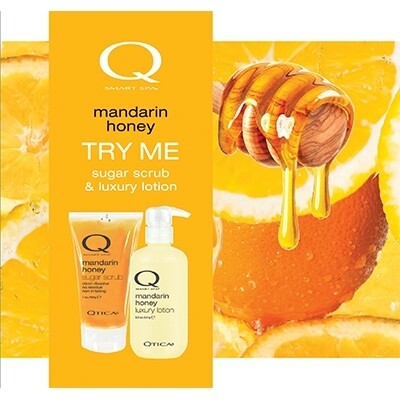 Zoya Mandarin Honey Scrub Lotion Set