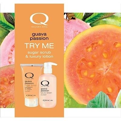 Zoya Guava Passion Scrub Lotion Set