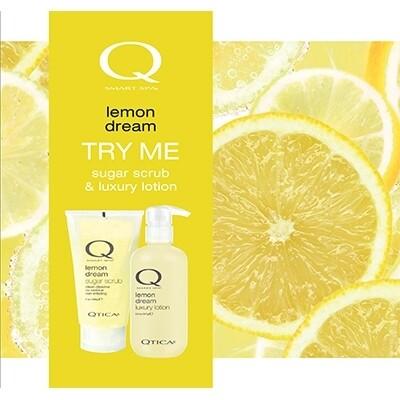 Zoya Lemon Scrub Lotion Set
