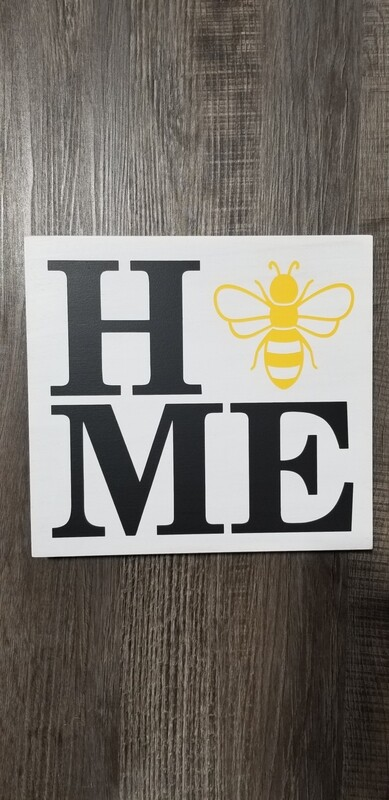 Queen Bee Designs Home With Bee Sign