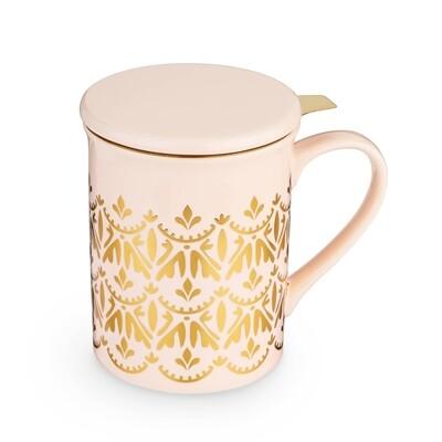 Pinky Up Annette Ceramic Tea Mug Infuser