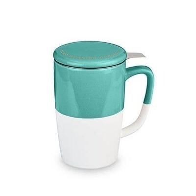 Pinky Up Dalia Green Good Morning Gorgeous Mug & Infuser