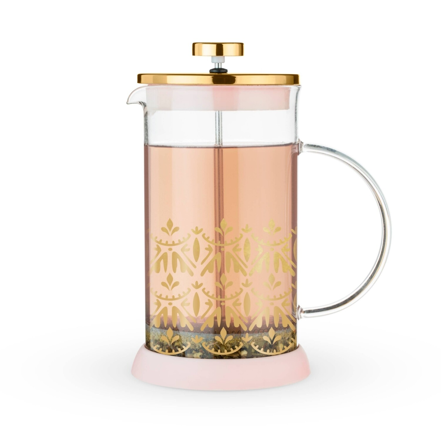 Pinky Up Riley Glass Teapot Press