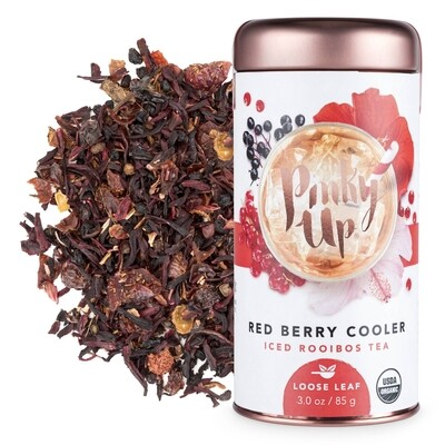 Pinky Up Red Berry Cooler Iced Tea Loose