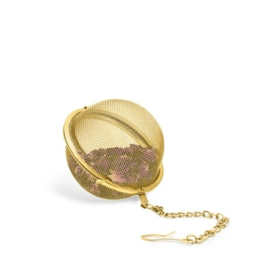 Pinky Up Loose Leaf Tea Infuser Ball Gold