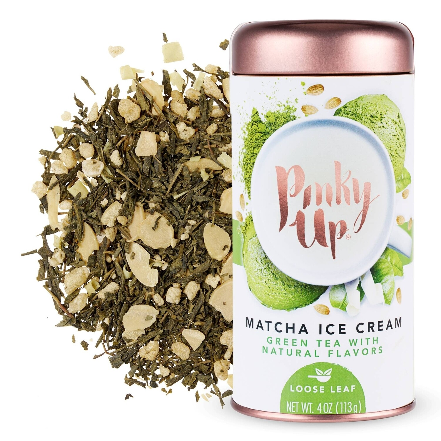 Pinky Up Matcha Ice Cream Green Tea