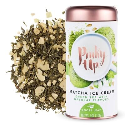 Pinky Up Matcha Ice Cream Green Tea