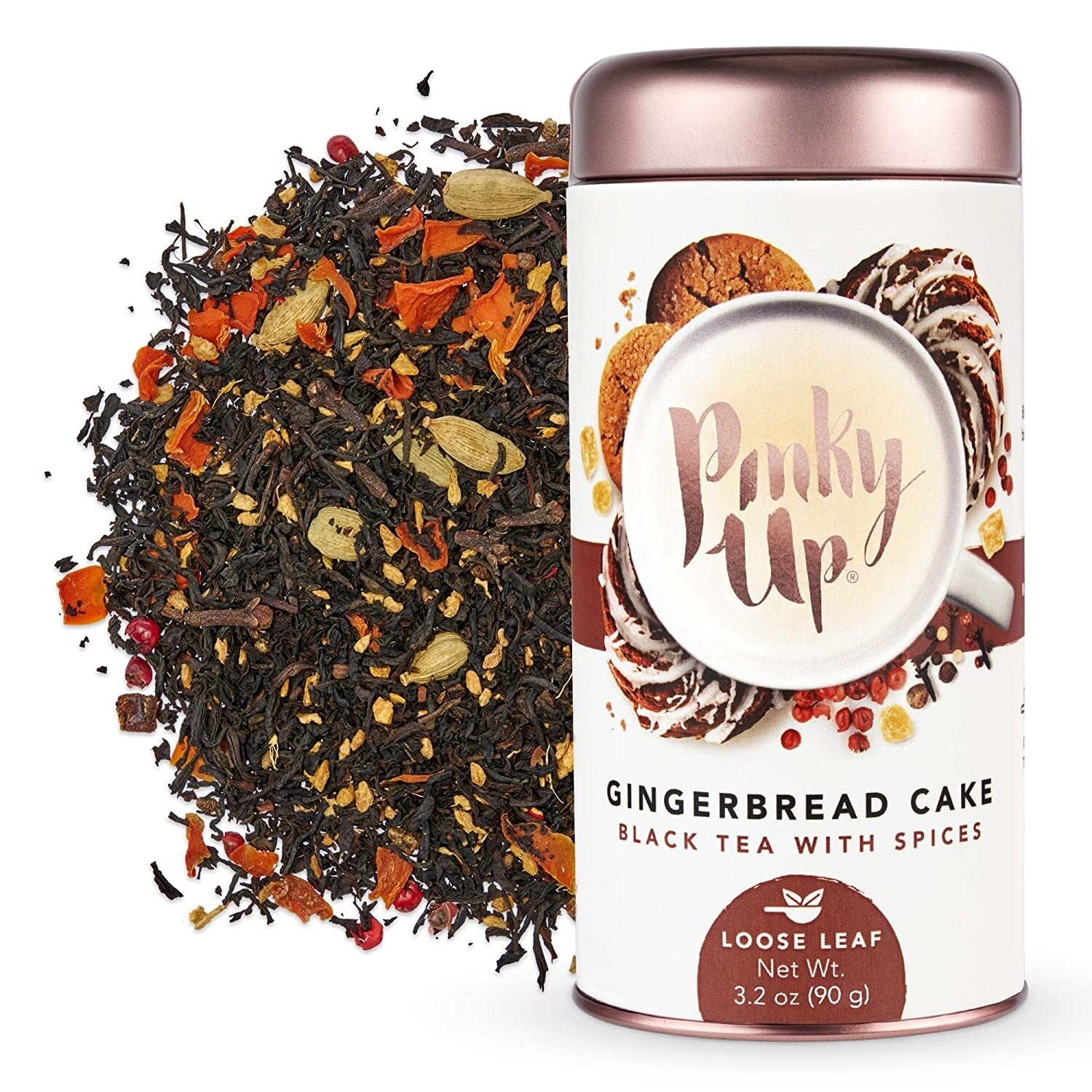 Pinky Up Gingerbread Cake Black Tea