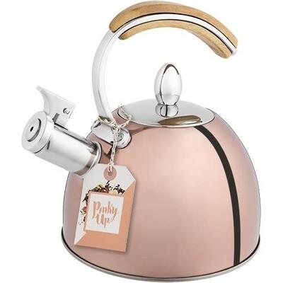 Pinky Up Presley Tea Kettle Rose Gold