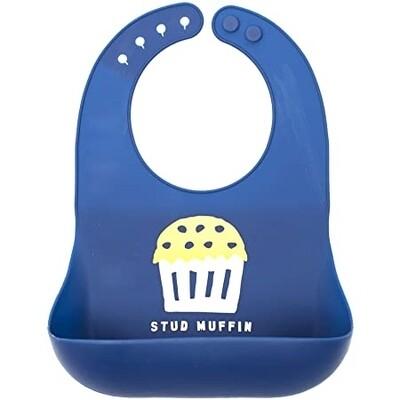 Bella Tunno Stud Muffin Bib