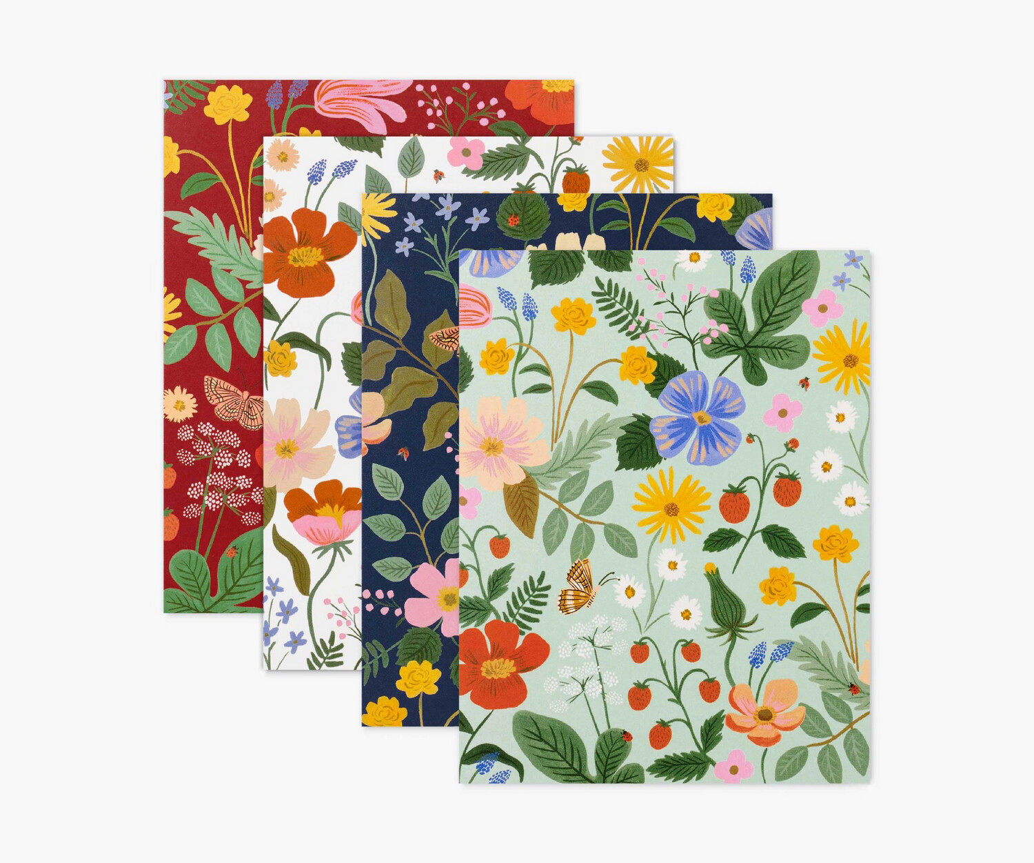 Rifle Paper Co Assorted Strawberry Fields Card Set