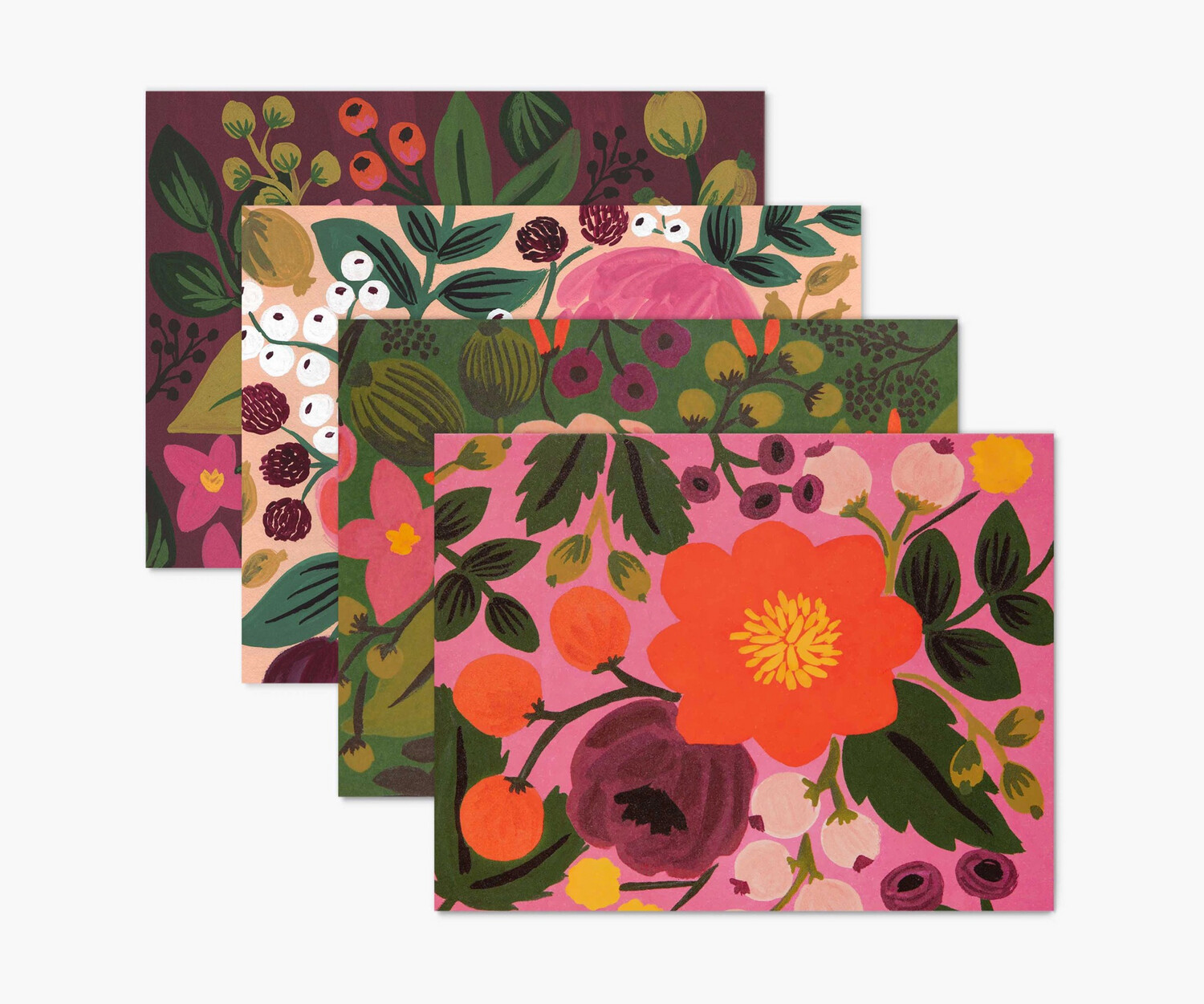 Rifle Paper Co Assorted Vintage Blossoms Card Set