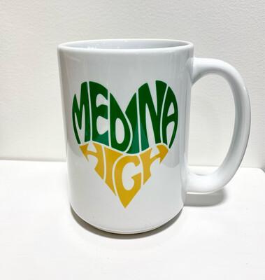 Queen Bee Designs Medina High Mug