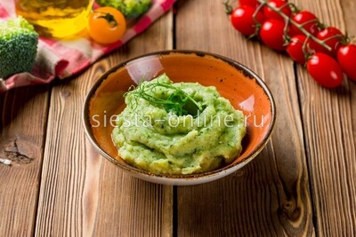 Картофельное пюре со шпинатом