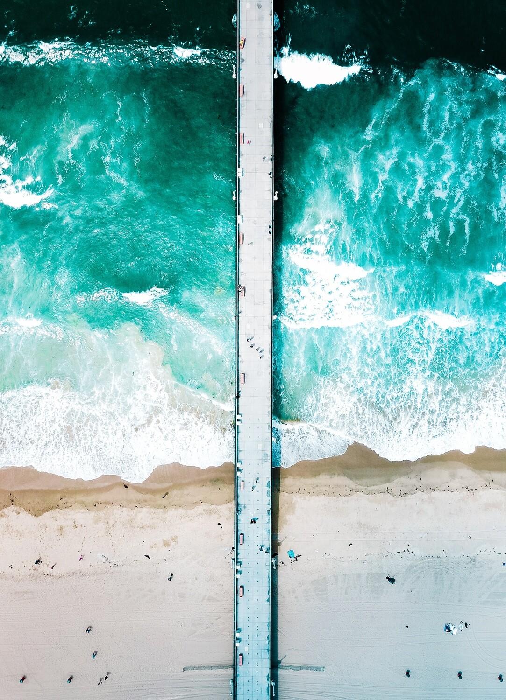 Ethereal Walkway to the Sea