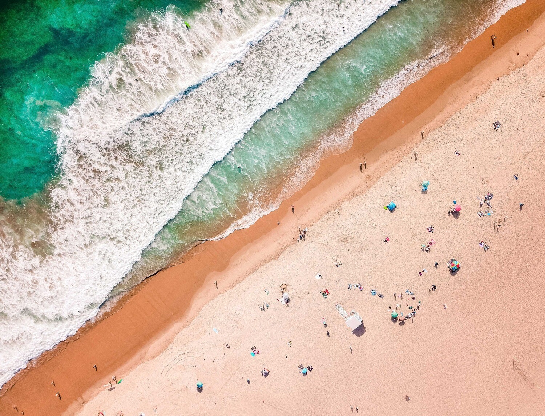 Diagonal Beach