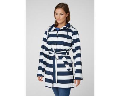 Helly Hansen Lyness II Waterproof Jacket Blue Stripe