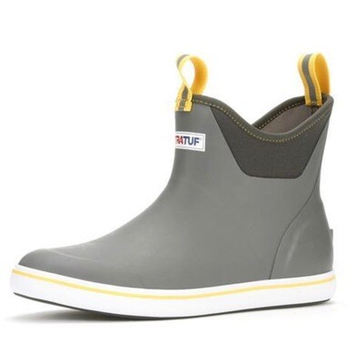XtraTuf Ankle Deck Boot Grey