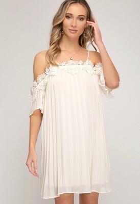 She & Sky Dress Ivory