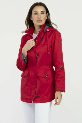 Tribal Spring Jacket Red