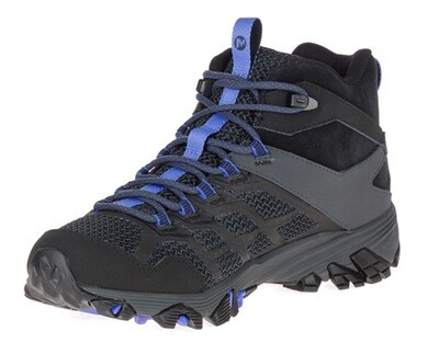 Merrell Moab FST 2 Mid Waterproof Black Granite