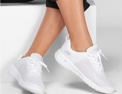 Skechers Go Walk White