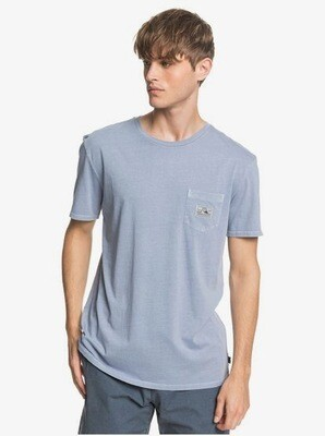 Quiksilver Mission Tee Light Blue