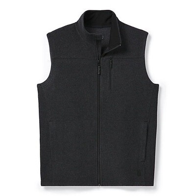 Smartwool Anchor Line Vest Charcoal Heather