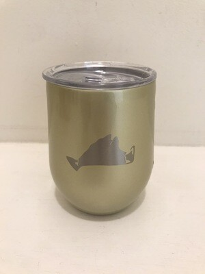 Corkcicle Stemless 12oz Unicorn Glampagne