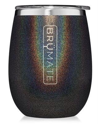 Brumate Uncork'd Glitter Charcoal 14oz.