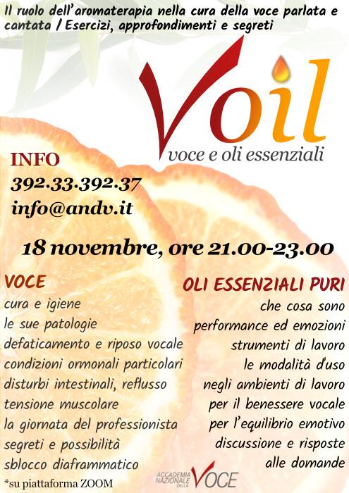 Voil - Voce e Oli Essenziali