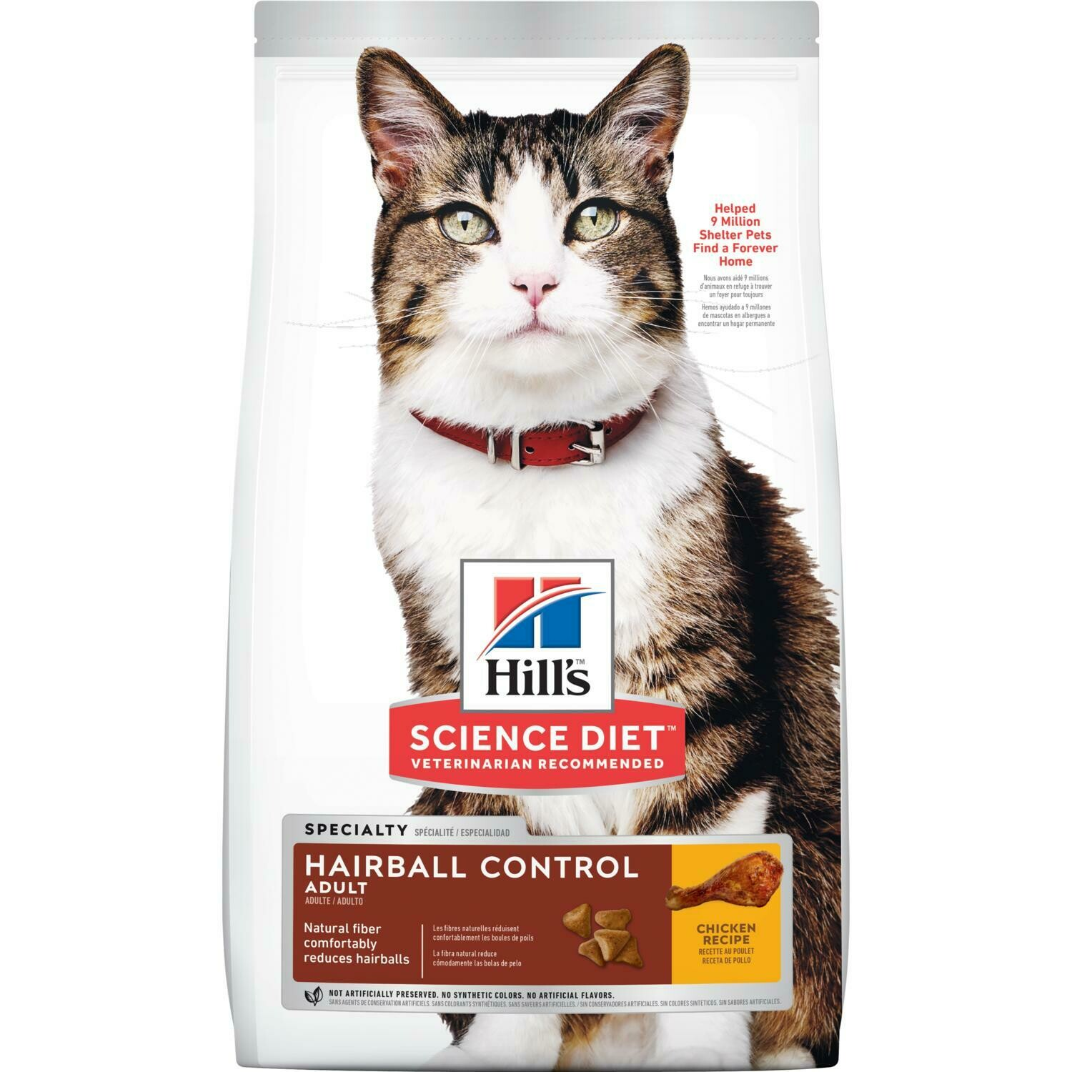 Hill's Adult Hairball Control cat food