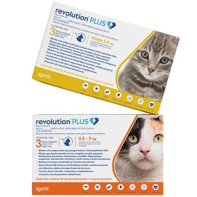 Anti-Pulgas Revolution Plus, Para Gatos