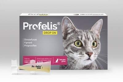 Anti-Pulgas, Profelis, para Gatos