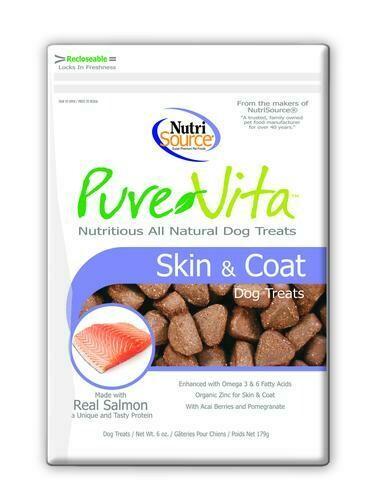 Snacks, Pure Vita, Treats Dog,  Skin & Coat