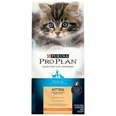 Purina Pro Plan  Cat  & Kitten Focus Chicken & Rice