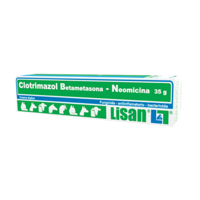 Crema Clotrimazol, Lisan