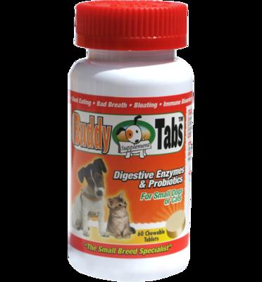 Buddy Tabs, Encimas Digestivas y Probioticos.