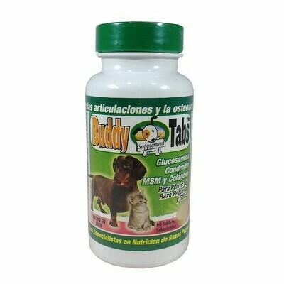 Buddy Tabs, Glucosamina Condroitín MSM y Colagéno