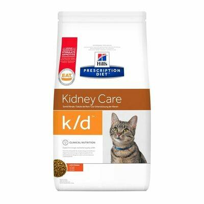 Hill´s Prescription Diet Feline k/d Insuficiencia renal / cardíaca
