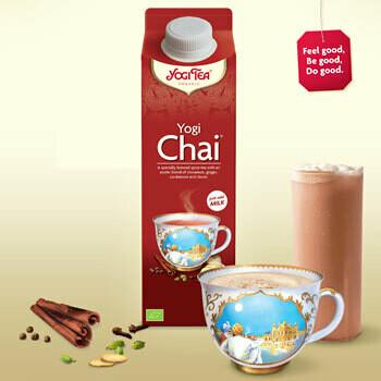 Yogi Tea Chai drink