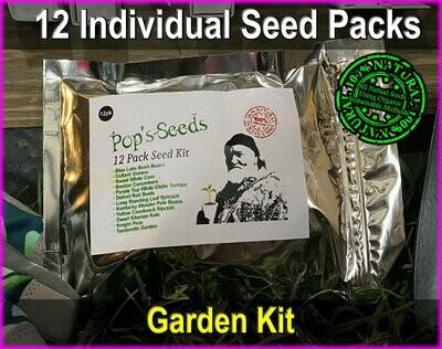 12 Pack Heirloom Vegetable Seeds