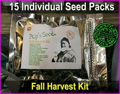 Fall Harvest Garden Seed Kit