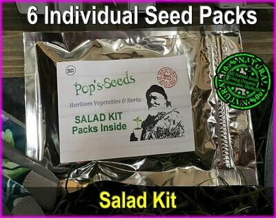 Heirloom Garden Salad Kit