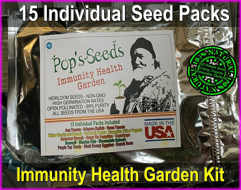 Immunity Health Garden Seed Kit