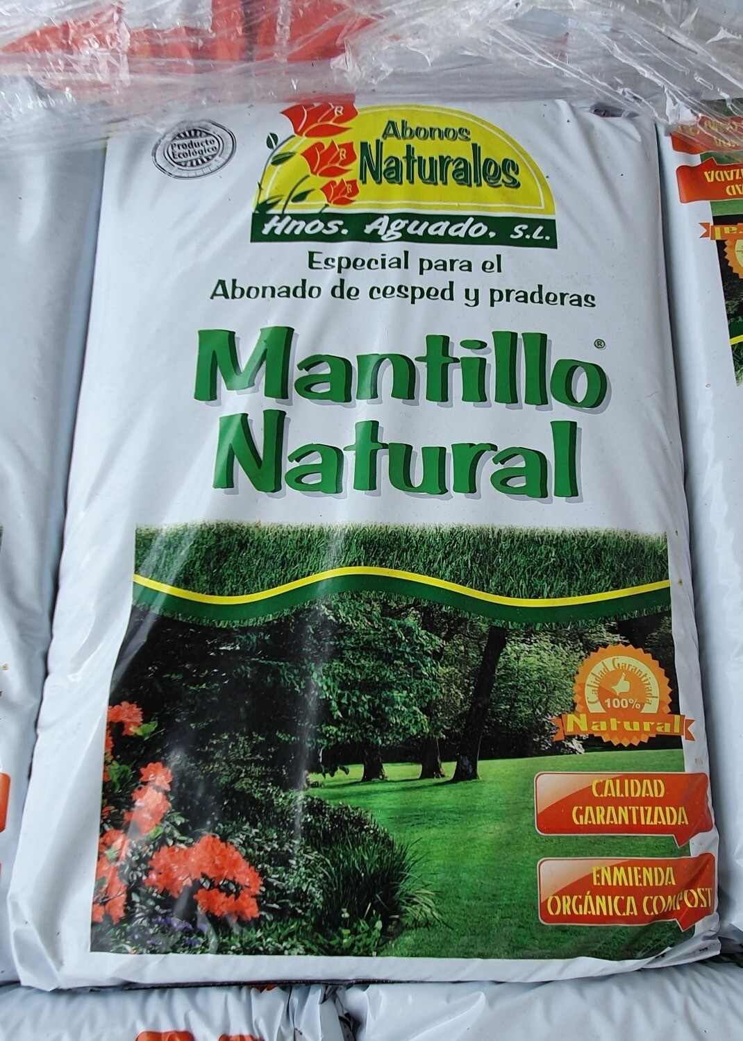 Mantillo natural 35 litros