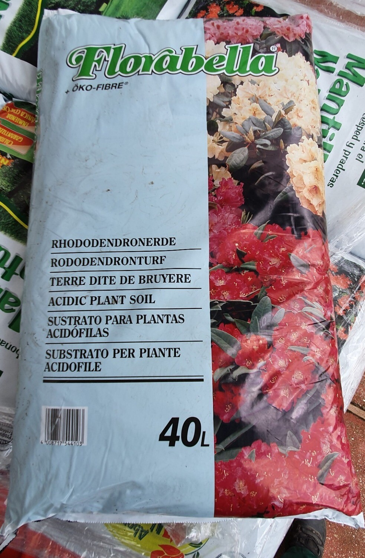 Sustrato plantas acidófilas 40 litros